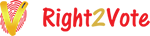 Right2Vote Infotech Pvt. Ltd. – e-voting Website Logo